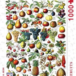 New York Puzzle Company - Fruits 1000 Piece Jigsaw Puzzle