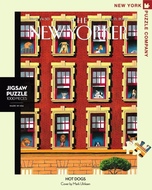 New York Puzzle Company - Hot Dogs 1000 Piece Jigsaw Puzzle