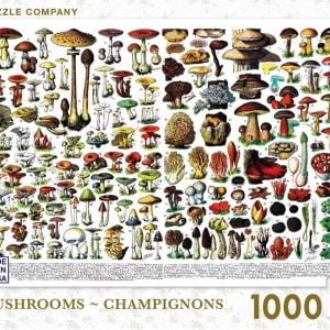 New York Puzzle Company - Mushrooms - Champignons 1000 piece Jigsaw Puzzle