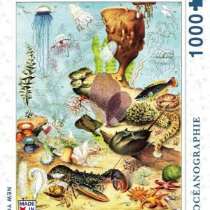 New York Puzzle Company - Oceanographie 1000 Piece Jigsaw Puzzle