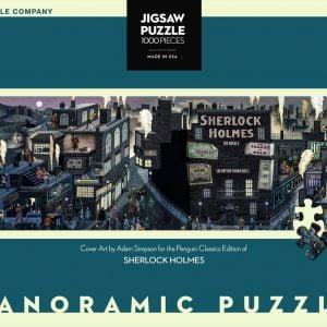 New York Puzzle Company - Sherlock Holmes 1000 Piece Jigsaw Puzzle