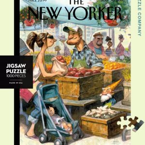 New York Puzzle Company - Small Growers 1000 Piece Jigsaw Puzzle