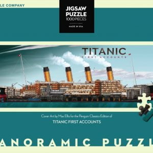 New York Puzzle Company - Titanic First Accounts 1000 Piece Jigsaw Puzzle