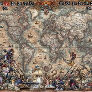 Pirate's Map 2000 Piece Jigsaw Puzzle - Educa