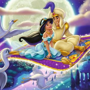 Disney Aladdin Moments 1000 Piece Jigsaw Puzzle- Ravensburger