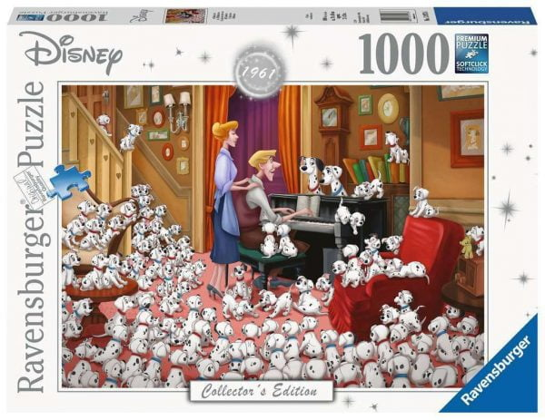 Disney 101 Dalmations Moments 1000 Piece Jigsaw Puzzle - Ravensburger