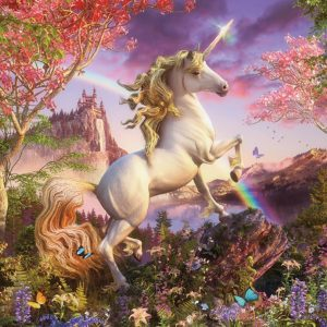 Realm of the Unicorn 350 Piece Family Jigsaw Puzzle - Cobble Hill