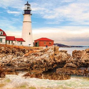 Rocky Lighthouse 1500 Piece Jigsaw Puzzle - Educa