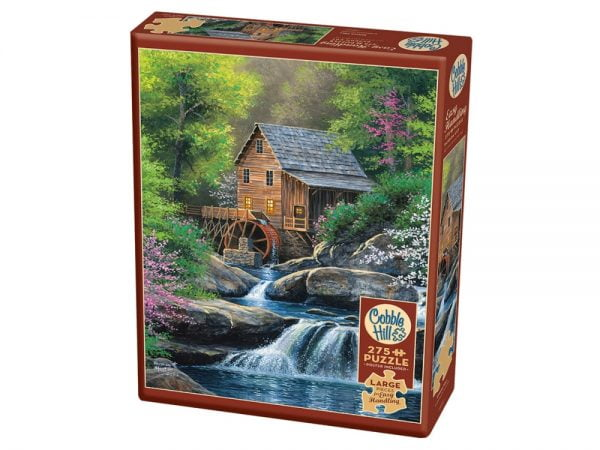 Spring Mill 275 Large Piece Jigsaw Puzzle - Cobble Hill