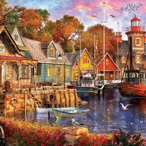 The Harbour Evening 5000 Piece Jigsaw Puzzle - Educa
