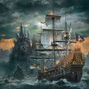 The Pirates Ship 1500 Piece Jigsaw Puzzle - Clementoni