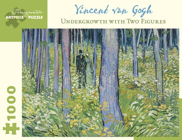 Van Gogh - Undergrowth with Two Figures 1000 Piece Jigsaw Puzzle - Pomegranate