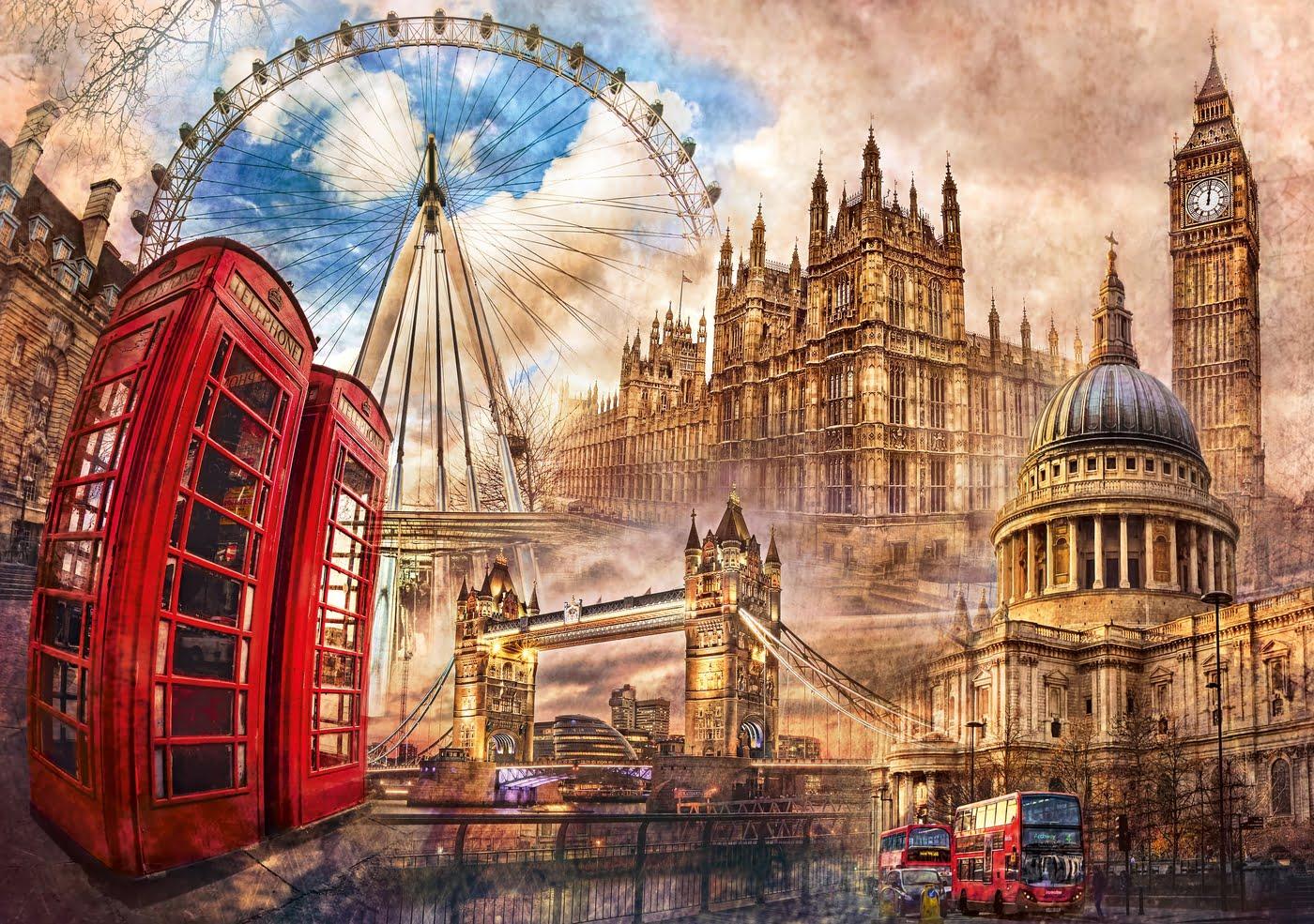 Картинки для открыток лондон, хорошего