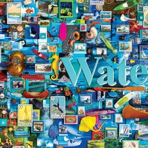 Water 1000 Piece Jigsaw Puzzle - Cobble Hill