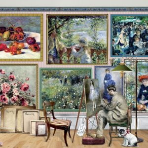 Works of Art - Renoir at Work 1000 Piece Jigsaw Puzzle - Holdson