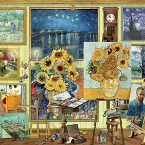 Works of art - Van Gogh Studio 1000 Piece Jigsaw Puzzle - Holdson