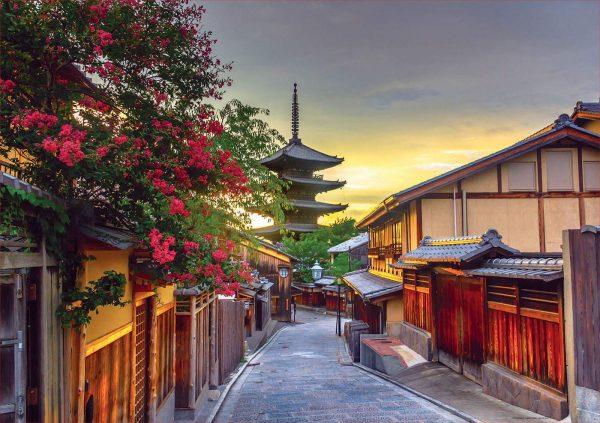 Yasaka Pagoda, Kyoto, Japan 1000 Piece Jigsaw Puzzle - Educa
