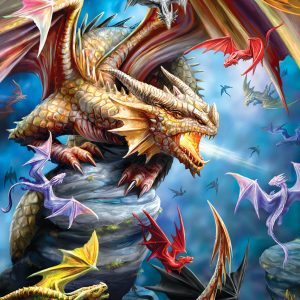 Ann Stokes - Dragon Clan 1000 Piece Jigsaw Puzzle - Eurographics