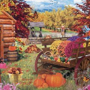 Autumn Garden 1000 Piece Jigsaw Puzzle - Eurographics