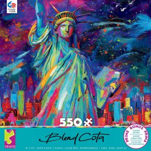 Blend Cota - Lady Liberty 550 Piece Jigsaw Puzzle - Ceaco