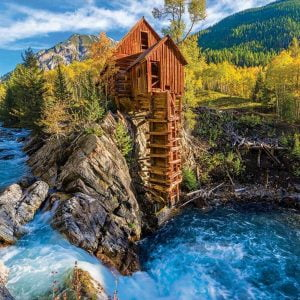 Crystal Mill 1000 Piece Jigsaw Puzzle - Eurographics