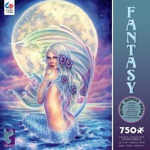 Fantasy - Moon Mermaid 750 Piece Jigsaw Puzzle - Ceaco