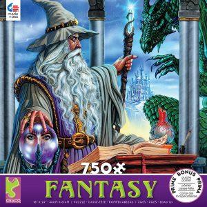 Fantasy - Wizard's Emissary 750 Piece Jigsaw Puzzle - Ceaco