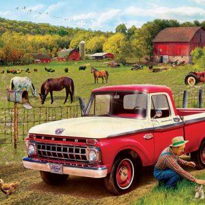 Grandpa's Old Truck 1000 Piece Jigsaw Puzzle - Eurographics