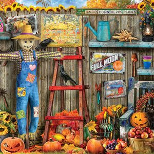 Harvest Time 1000 Piece Jigsaw Puzzle - Eurographics