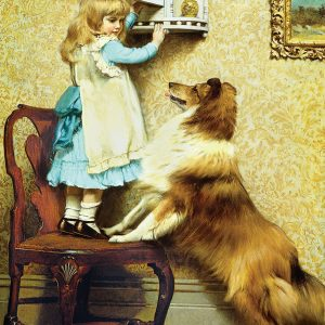 Little Girl and her Sheltie 1000 Piece Jigsaw Puzzle - Eurographics