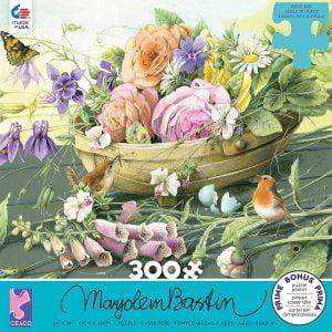 Marjolein Bastin - Florabunda 300 Piece Jigsaw Puzzle - Ceaco