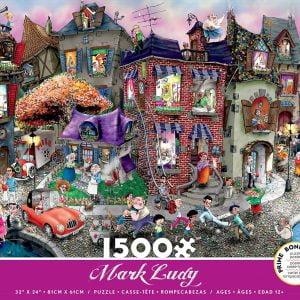 Mark Ludy Night Celebration 1500 Piece Jigsaw Puzzle - Ceaco