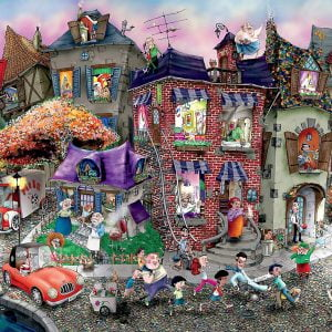 Mark Ludy Night Celebration 1500 Piece Jigsaw Puzzle - Ceaco