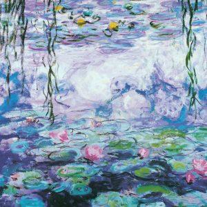 Monet - Water Lilies 1000 Piece Jigsaw Puzzle - Eurographics