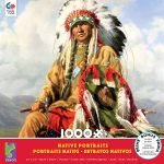 Native Portraits - Heart of the Cloud 1000 Piece Jigsaw Puzzle - Ceaco