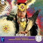 Native Portraits - Lighting 1000 Piece Jigsaw Puzzle - Ceaco