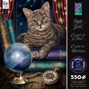 Night Spirit - Fortune 550 Piece Jigsaw Puzzle - Ceaco