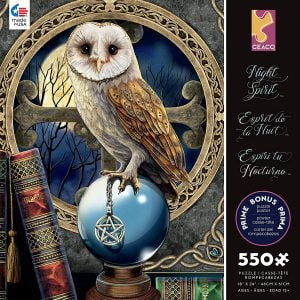 Night Spirit - Spell Keeper 550 Piece Jigsaw Puzzle - Ceaco