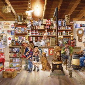 The General Store 2000 Piece Jigsaw Puzzle - Eurographics