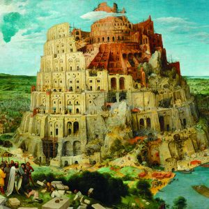 The Tower of Babel 1000 Piece Jigsaw Puzzle - Eurographics