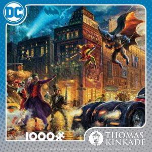 Thomas Kinkade - DC Comics - Gotham City 1000 Piece Jigsaw Puzzle - Ceaco