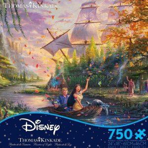 Thomas Kinkade Disney - Pokahontas 750 Piece Jigsaw Puzzle - Ceaco
