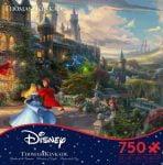 Thomas Kinkade Disney - Sleeping Beauty Enchanting 750 Piece Jigsaw Puzzle - Ceaco