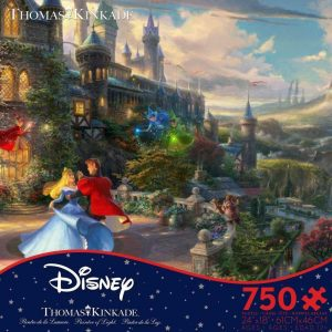 Thomas Kinkade Disney - Sleeping Beauty Enchanting 750 Piece Jigsaw Puzzle - Ceaco