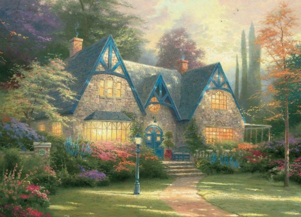 Thomas Kinkade - Windsor Manor 1000 Piece Jigsaw Puzzle - Ceaco