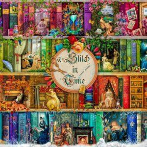 Treat Yo Shelf - A Stitch in time 1000 Piece Jigsaw Puzzle - Holdson