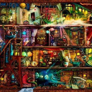 Treat yo Shelf - Fantastic Voyage 1000 Piece Jigsaw Puzzle - Holdson