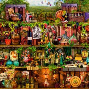 Treat yo Shelf - Wine Shelves 1000 Piece Jigsaw Puzzle - Holdson