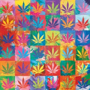 Weed Wonderland 1000 Piece Jigsaw Puzzle - Eurographics