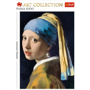 Vermeer - Girl with a Pearl Earring 1000 Piece Jigsaw Puzzle